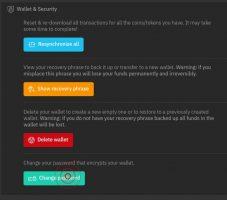 تغییر رمزعبور کوینومی نسخه دسکتاپ