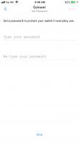 رمزعبور نصب کیف پول نسخه موبایل کوینومی