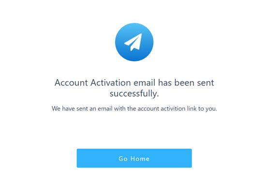 ایمیل فعال سازی