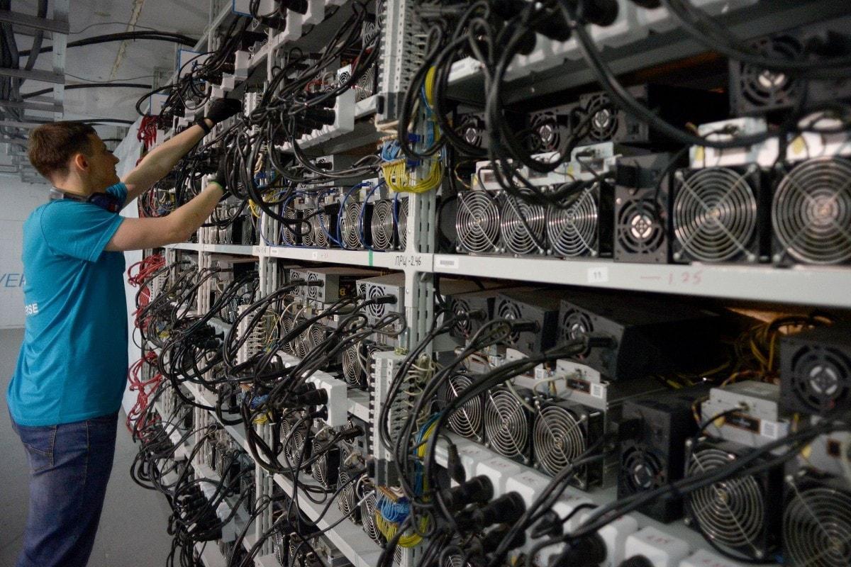 استخر استخراج بلاک چین بیت کوین