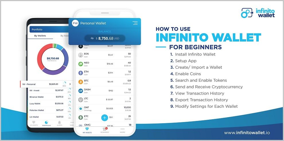 راهنمای نصب و استفاده از کیف پول Infinito برای مبتدیان