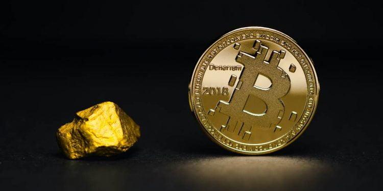 شرایط بیت کوین در برابر طلا