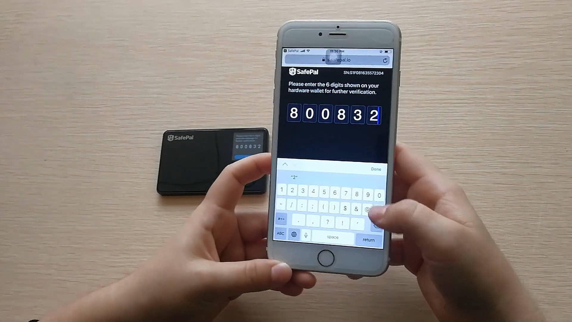 راه اندازی کیف پول سخت افزاری سیف پل