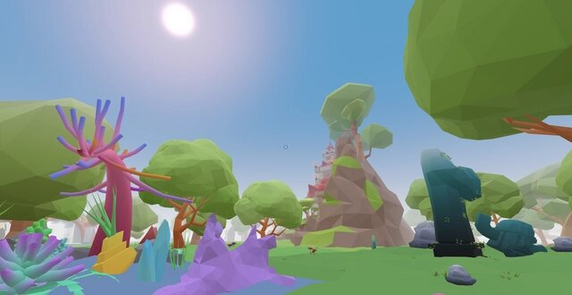 فضای داخل بازی دیسنترالند