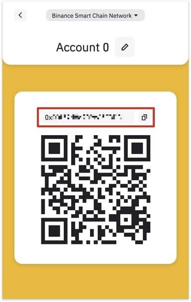 نصب کیف پول Binance Chain Wallet