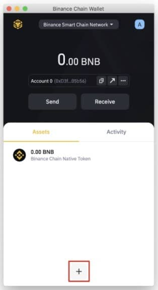 آموزش کیف پول بایننس چین والت