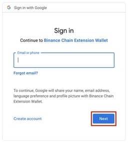 آموزش کیف پول binance chain wallet
